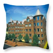 Georgetown Apartments - 1980s Throw Pillow