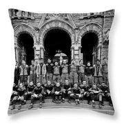 Georgetown Football 1910 Throw Pillow