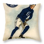 Georgetown Hockey Throw Pillow