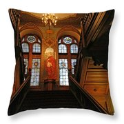 Georgetown's Healy Hall Throw Pillow