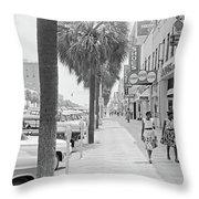 Georgia Albany, 1962 Throw Pillow