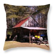 Georgia Barn Throw Pillow