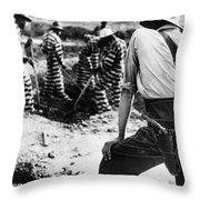 Georgia Prison Guard, 1941 Throw Pillow