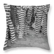 Georgia Prisoners, 1941 Throw Pillow