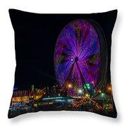 Georgia State Fair 2014  2 Throw Pillow