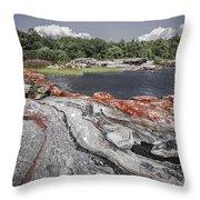 Georgian Bay Vi Throw Pillow