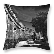 Georgian Crescent Throw Pillow