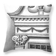 Georgian Splendor Throw Pillow