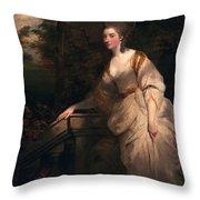 Georgiana Cavendish, Duchess Throw Pillow