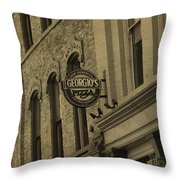 Georgio's Pizza Grand Rapids Michigan Throw Pillow