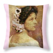 Geraldine Farrar Throw Pillow