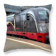 German Electric Train Munich Germany Throw Pillow