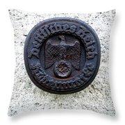 German Reich Seal Throw Pillow