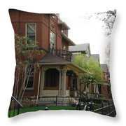 German Village Beauty Series 2 Throw Pillow