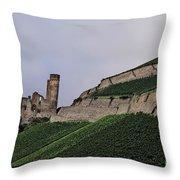 German Vineyard Throw Pillow