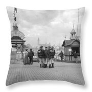 Germany Cologne, C1910 Throw Pillow