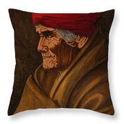Geronimo At 77 Throw Pillow