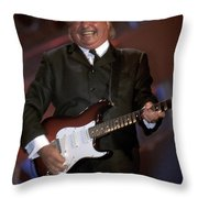 Gerry And The Pacemakers Throw Pillow