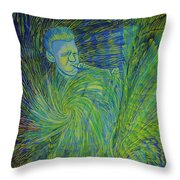 Gerry Mulligan Is Growing His Own World Throw Pillow