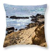 Gerstle Coastline Throw Pillow