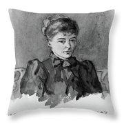 Gertrude Bell (1868-1926) Throw Pillow