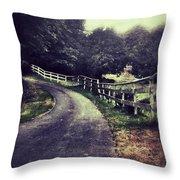 Gertrudes Ranch  Throw Pillow