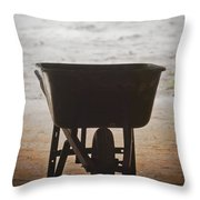 Get Back To Work Throw Pillow by Patrick M Lynch