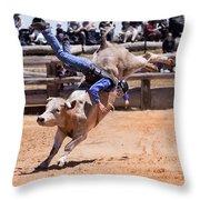 Get Bucked II Throw Pillow