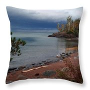 Get Lost In Paradise Throw Pillow