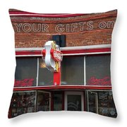 Get Your Gifts On 66 Throw Pillow