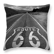 Get Your Kicks On Throw Pillow