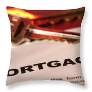 Getting A New Home  Throw Pillow