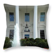 Getting Close To The White House Throw Pillow