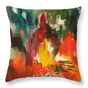 Getting Over Throw Pillow