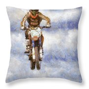 Getting The Air Throw Pillow