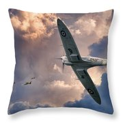 Getting The Jump Throw Pillow