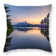 Getting The Perfect Shot Throw Pillow
