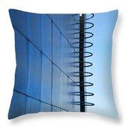 Getty Center Ladder Throw Pillow