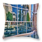 Getty Reflections Throw Pillow