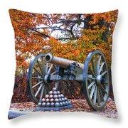 Gettysburg High Water Mark Throw Pillow