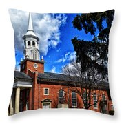 Gettysburg Lutheran Seminary Chapel Throw Pillow