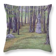 Gettysburg Pathway Throw Pillow