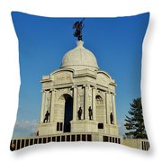 Gettysburg - Pennsylvania Memorial Throw Pillow
