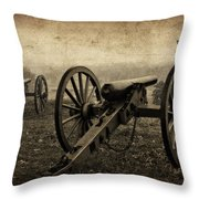 Gettysburg Revisited Throw Pillow