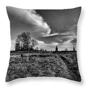 Gettysburg Sky Throw Pillow