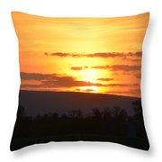 Gettysburg Sunset Throw Pillow