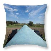 Gettysburg Vintage Cannon Macro Throw Pillow