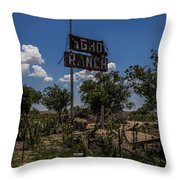 Gho Ranch Throw Pillow