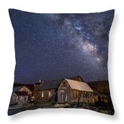 Ghost Dog At Bodie Throw Pillow