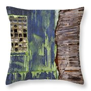 Ghost Dog Throw Pillow